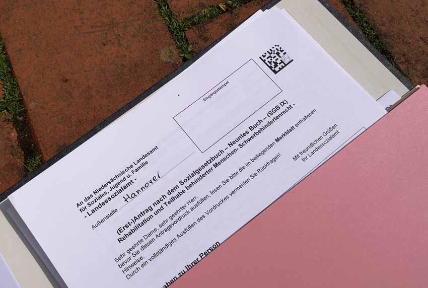 Antrag auf Schwerbehinderung // www.ich-und-mein-brustkrebs.de