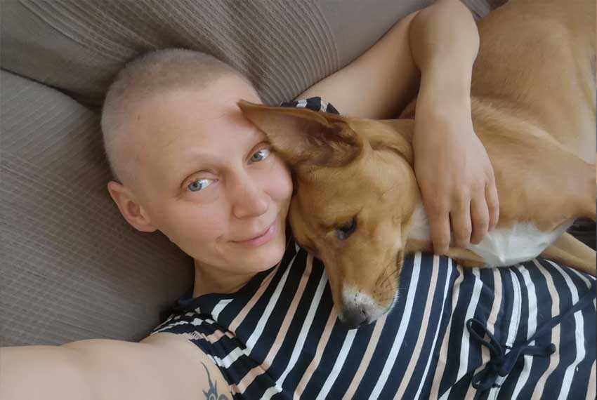 Infos bei Brustkrebs // Autorin Katja